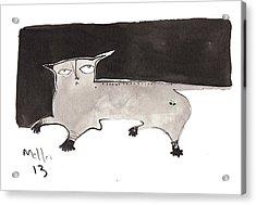 Feles No. 2  Acrylic Print by Mark M  Mellon
