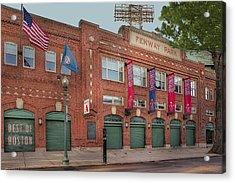 Fenway Park - Best Of Boston Acrylic Print by Susan Candelario