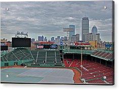 Fenway Park Boston Acrylic Print by Amazing Jules