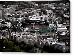 Fenway Park Acrylic Print by Tim Perry