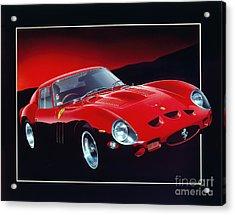 Ferrari 250 Gto Acrylic Print by Gavin Macloud