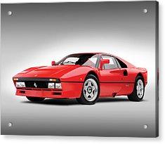 Ferrari 288 Gto Acrylic Print by Gianfranco Weiss