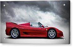 Ferrari F50 Acrylic Print by Douglas Pittman