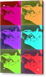 Ferrari Gto Pop Art 3 Acrylic Print by Naxart Studio