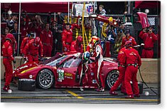 Ferrari Of Vancouver Acrylic Print by Bill Linhares