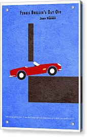 Ferris Bueller's Day Off Acrylic Print by Ayse Deniz
