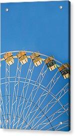 Ferris Wheel 2 Acrylic Print by Rebecca Cozart