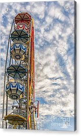 Ferris Wheel Acrylic Print by Antony McAulay