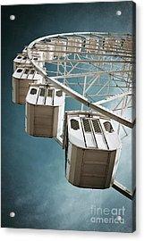 Ferris Wheel Acrylic Print by Carlos Caetano