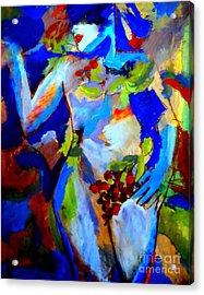 Fertility Acrylic Print by Helena Wierzbicki