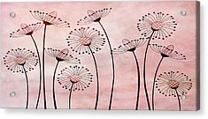 Field Of Flowers Within 3 Acrylic Print by Angelina Vick