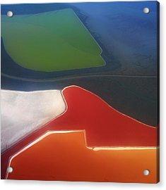 Fields Acrylic Print by Alexander Fedin
