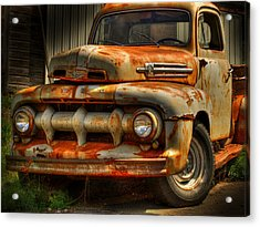 Fifty Two Ford Acrylic Print by Thomas Young