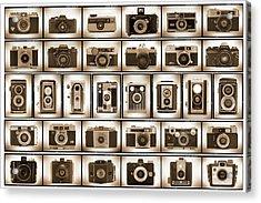 Film Camera Proofs Acrylic Print by Mike McGlothlen