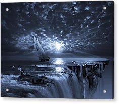 Final Frontier Voyager Acrylic Print by George Grie