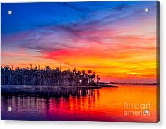 Final Glow Acrylic Print by Marvin Spates
