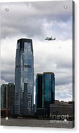 Final Voyage Of Space Shuttle Enterprise Acrylic Print by Nishanth Gopinathan