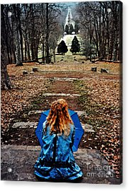 Find Me Acrylic Print by Lydia Holly