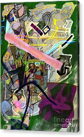 Finding Meaning Despite Appearances 2h Acrylic Print by David Baruch Wolk