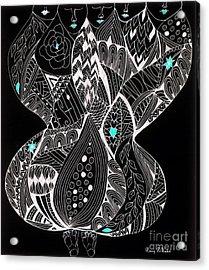 Finding My Soul Acrylic Print by Nancy TeWinkel Lauren
