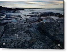Finding Peace Acrylic Print by Lourry Legarde