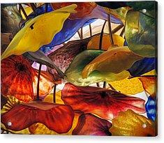 Fiori Di Como Macro 001 Acrylic Print by Lance Vaughn