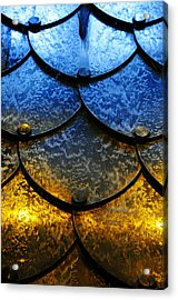 Fire And Ice Acrylic Print by Skip Hunt