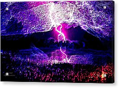 Fire From The Sky Acrylic Print by Larry Lamb