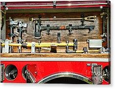 Fireman - Life Saving Tools Acrylic Print by Paul Ward