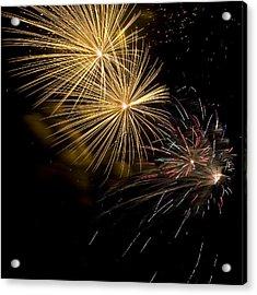 Fireworks 20 Acrylic Print by Sandy Swanson