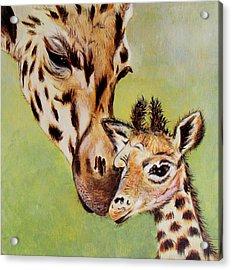 First Love Acrylic Print by Susan Duxter