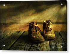 First Shoes Acrylic Print by Veikko Suikkanen