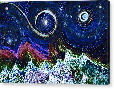 First Star Magic Sky By Jrr Acrylic Print by First Star Art