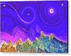 First Star Sunrise Acrylic Print by First Star Art