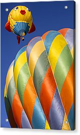 Fish In The Sky Acrylic Print by Garry Gay