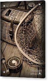 Fishing - All That Gear Acrylic Print by Paul Ward