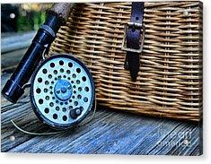 Fishing - Fly Fishing Acrylic Print by Paul Ward
