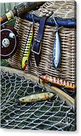 Fishing - Lots Of Gear Acrylic Print by Paul Ward
