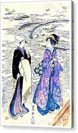 Fishing Net 1799 Acrylic Print by Padre Art