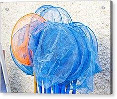 Fishing Nets Acrylic Print by Tom Gowanlock