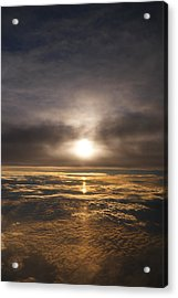 Five And A Half Mile Sunset Acrylic Print by Richard Reeve
