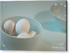 Five Eggs Acrylic Print by Catherine Fenner