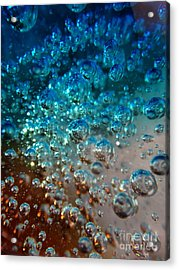 Fizzin Acrylic Print by Joseph Baril