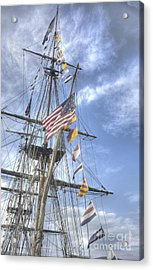 Flagship Niagara Acrylic Print by David Bearden