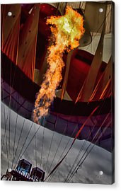 Flame On Two Acrylic Print by Bob Orsillo