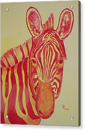 Flame Acrylic Print by Rhonda Leonard