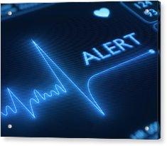 Heart Failure / Health Acrylic Print by Johan Swanepoel