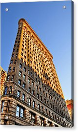 Flatiron Building Profile Too Acrylic Print by Randy Aveille