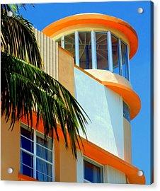 Flavour Of Miami Acrylic Print by Karen Wiles