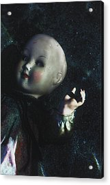Floating Doll Acrylic Print by Joana Kruse
